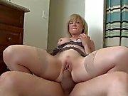 Sexy mom-whore & guy