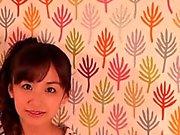 Squirting petite japanischen Babe Reiten Hahn