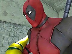 ROGUE frente a DEADPOOL