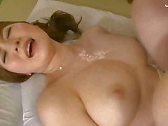 Busty Japanese Babe Gets Two Dicks