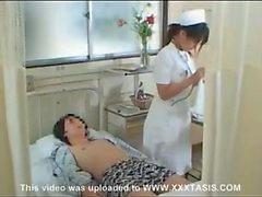 Enfermera de de seguridad social Japanese merece la pena