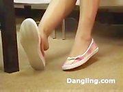 Megan Jones - Legs Crossed