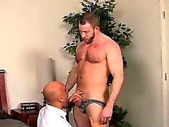 Amazing twinks After a day at the office, Brian is need of s