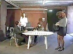Simona Valli Italian Prison Foursome