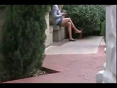 Wohnungen per Schuhspiele mit Pantyhose Beine