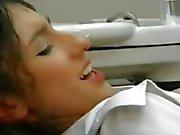 Sibell Kekilli in HOT Dentist Office