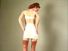 striscia di lingerie vintage