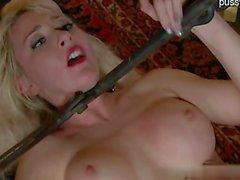 Sexy gf anal play