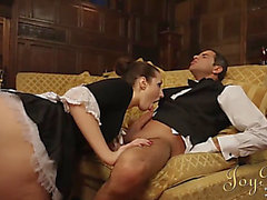 Joybear banging the maid