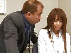 Megu Ayase Lovely Asian teacher