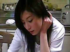 Nakadashi wife blackmail sex