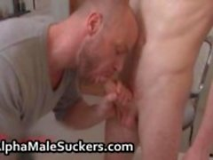 Machos alfa no hardcore gay super-