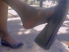 albergo candide shoeplay con calze a