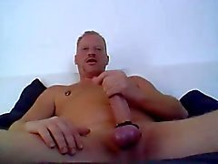 Big Cock Wank and Cum
