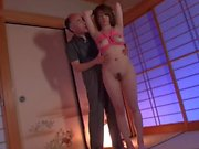 Step Dad Plays With Daughters Nipples
