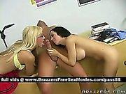 Two young schoolgirls at school