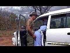 Véritable safari africain voyage sexuel