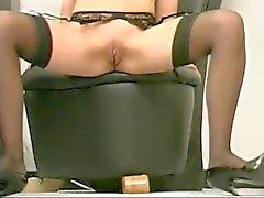 Reife im Pantyhose