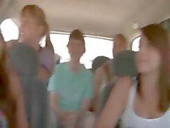 Arabada Dick emme şaşırtıcı genç kız