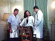 Joy Karins German Nurse fucked by two doctor