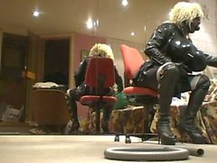 Roxina crazy horny zentai doll