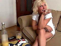 Partito Sessi con il blonde vedova di in età matura