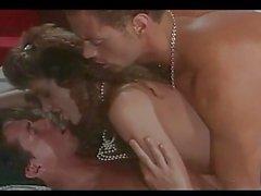 Klassische Szene mit Peter North & t hreatening Rocco