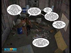3D Комический : Нанта Project . Эпизод 2