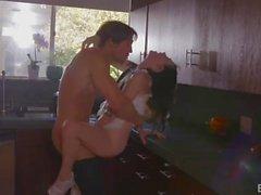 Jenna Reid Gets Fucked In The Kitchen