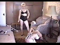 Maid spanked by mistress