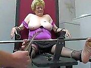 english granny tickled