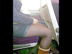Artiklar Shorts och Tights och strumpbyxor i tåget