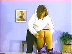 Naughty Girls spanked