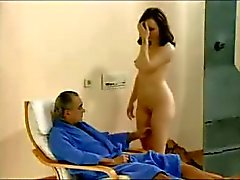 Husband guardare lei la moglie cazzo di A due dentro