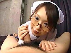 Asian Amateur Krankenschwester in Uniform Liebhaber Sex