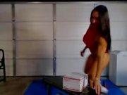 Denise On Webcam 7-21-2015