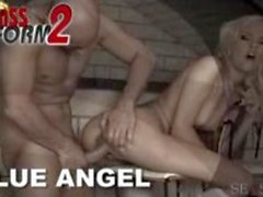 Blond maid gets banged