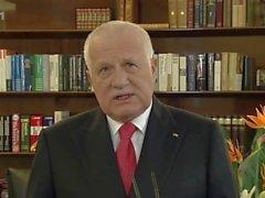 Václav Klaus destroyes völlig marxism mit seinem riesigen Liberalisierung!