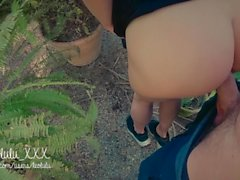 Public Creampie w/ Squirt and Deepthroat! - Amateur Couple LeoLulu