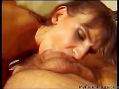 Old dad and two daughters - asslicking