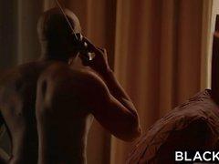 BLACKED Big Black Boss Protects Brett Rossi