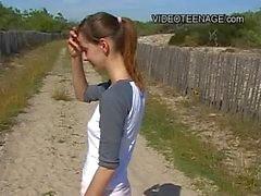 18 Jahre alten Teenager nackte at beach In