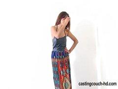 Castingcouch -HD - Нала поклоняются черный член у литье