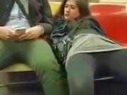 Mulher Tenta obrigar di una uma bater siririca pra ela nessuna della metropolitana