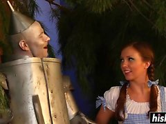 Dorothy enjoys a big hard pecker