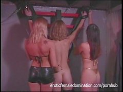 Slave Girls Hustle Another Slave Together