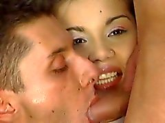 Europese biseksuele threesome
