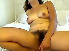 Full bush hairy latin squirter MsShyViolet