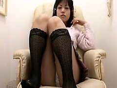 Hairy Asian Teen fica dal vivo