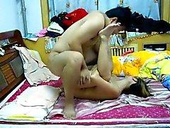 Asiatisch Chinesisch Paare Selbst
